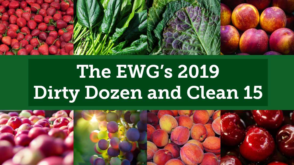 The 2019 Dirty Dozen And Clean 15